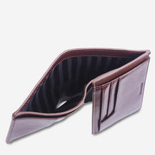 Load image into Gallery viewer, Status Anxiety Nathaniel Wallet Chocolate Leather