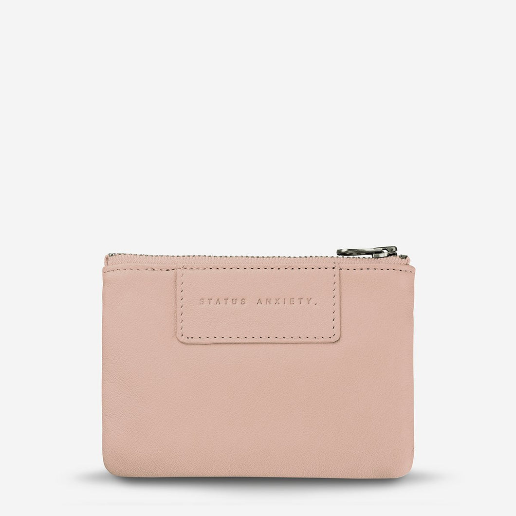 Status Anxiety Anarchy Purse Dusty Pink Leather