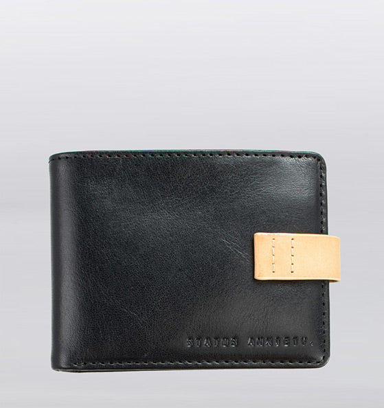 Status Anxiety Josiah Wallet Black