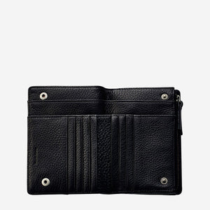 Status Anxiety Insurgency Wallet Black Leather