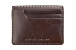 Status Anxiety Isaac Wallet Chocolate