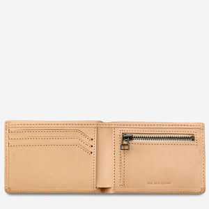 Status Anxiety Otis Wallet Tan Leather