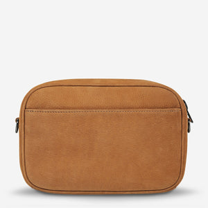Status Anxiety Plunder Bag Tan Nubuck