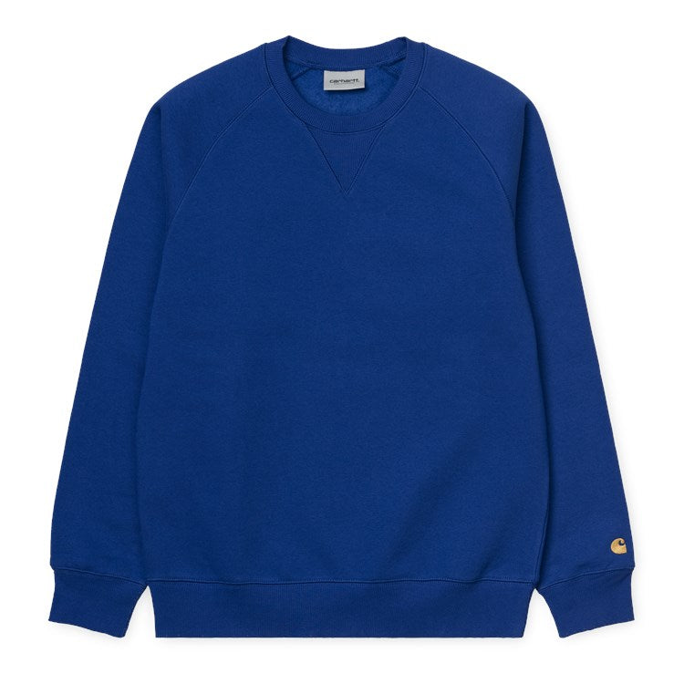 Carhartt WIP Chase Sweat Submarine/ Gold