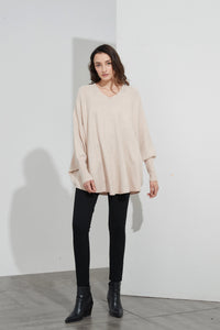 Tirelli Oversized Pocket Champagne Pink