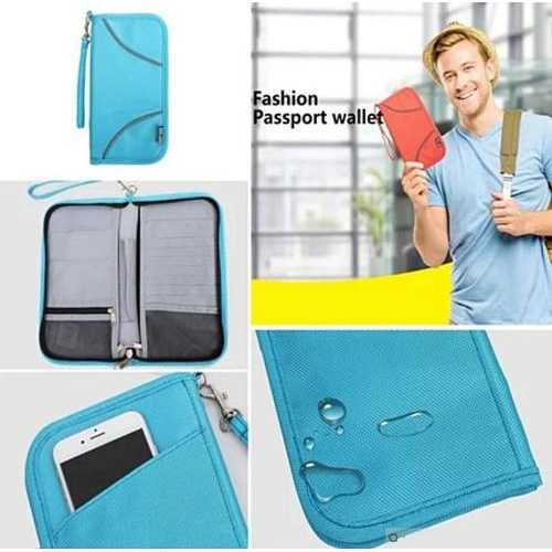 SAFE JOURNEY RFID BLOCKER Passport and Credit Card Protector Wallet