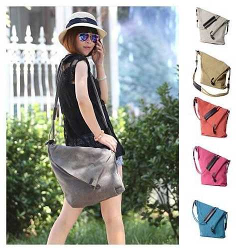 LEISURELY Foldover Crossbody Bag In 6 Colors