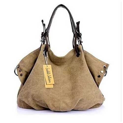 Journey Canvas Handbag