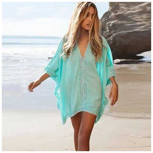 Caribbean Caftan Cover Up