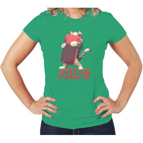 Cat # Selfie Cute Women T-Shirt
