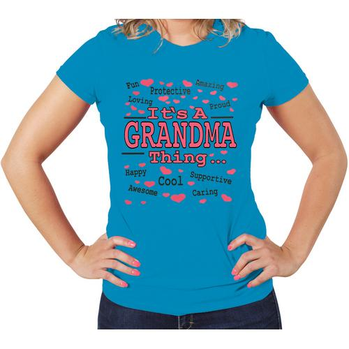 It's A GRANDMA Thing Women t-shirt