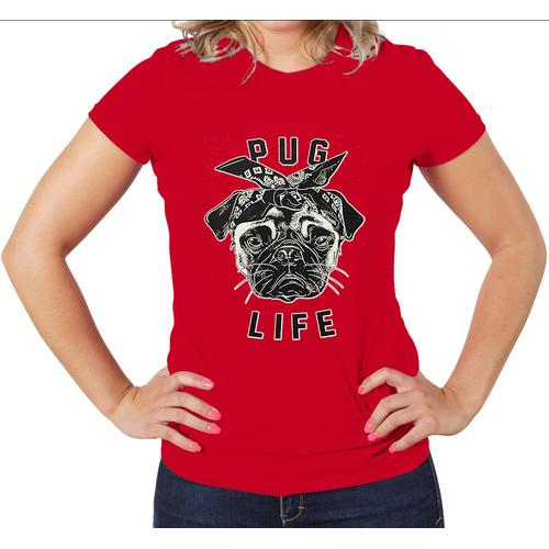 Pug Life women Graphic T-Shirt