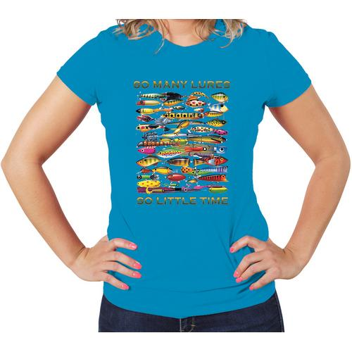 Fishing Women T-Shirt Assprted Colors