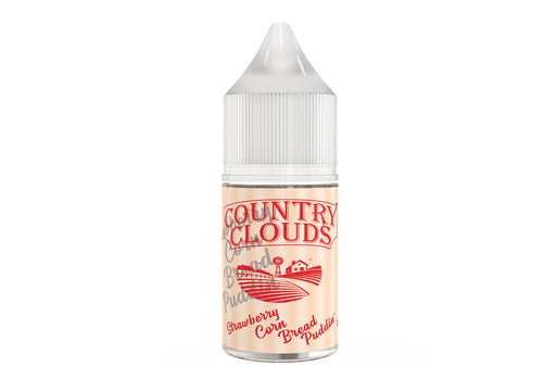 Strawberry Corn Bread Puddin' Salt - Country Clouds E-Juice