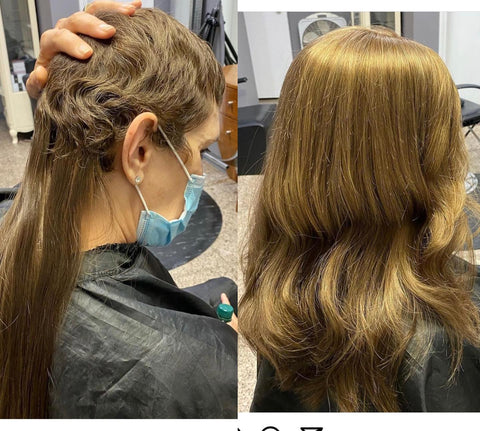 Best Hair Extension Makeover