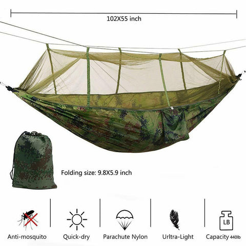 size of the hammock