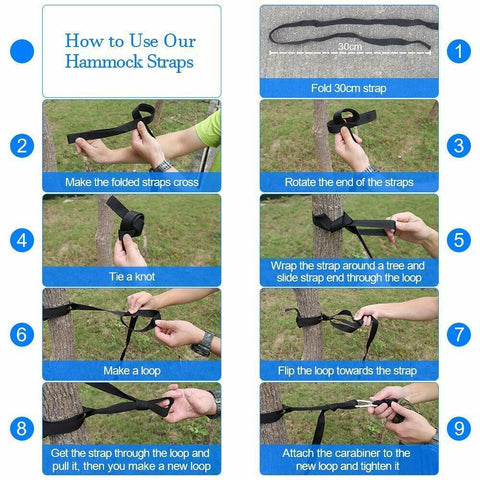 tips for how to use the hammock