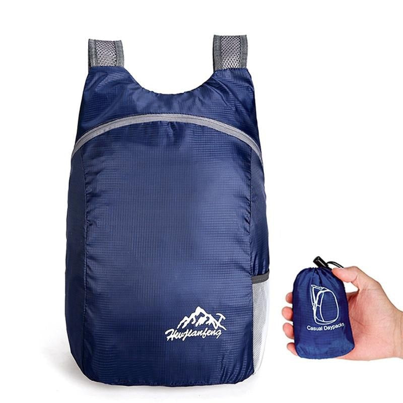 Blue 20L Lightweight Packable Backpack