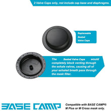 Load image into Gallery viewer, BASE CAMP® Replacement Sealed Valve Caps