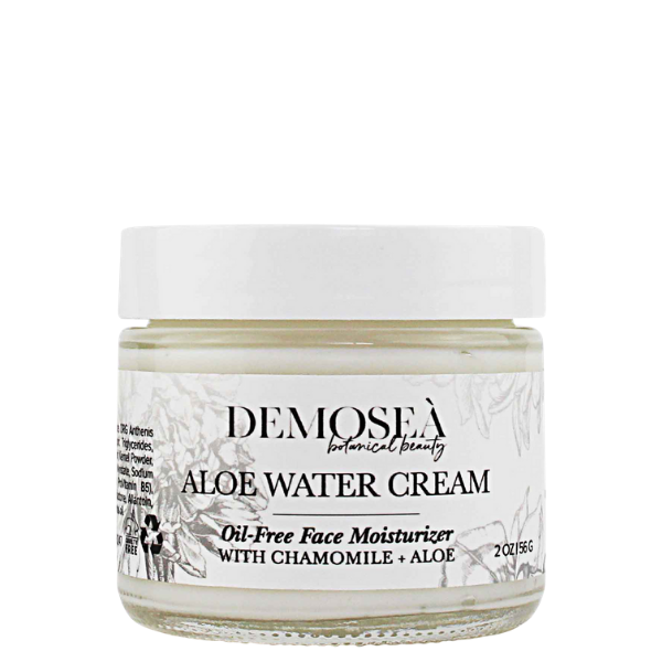 STEP 3: {ALOE WATER CREAM} A MOISTURIZER THAT CATERS TO THE NEEDS OF OILY SKIN
