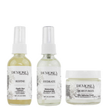 {THE MAXIMUM MOISTURE} 3-STEP SKINCARE SYSTEM FOR DRY SKIN