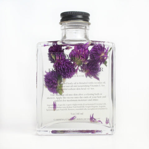 FRENCH LAVENDER FLORAL-INFUSED BODY OIL