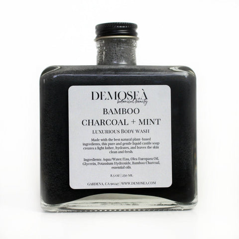 BAMBOO CHARCOAL & MINT BODY WASH