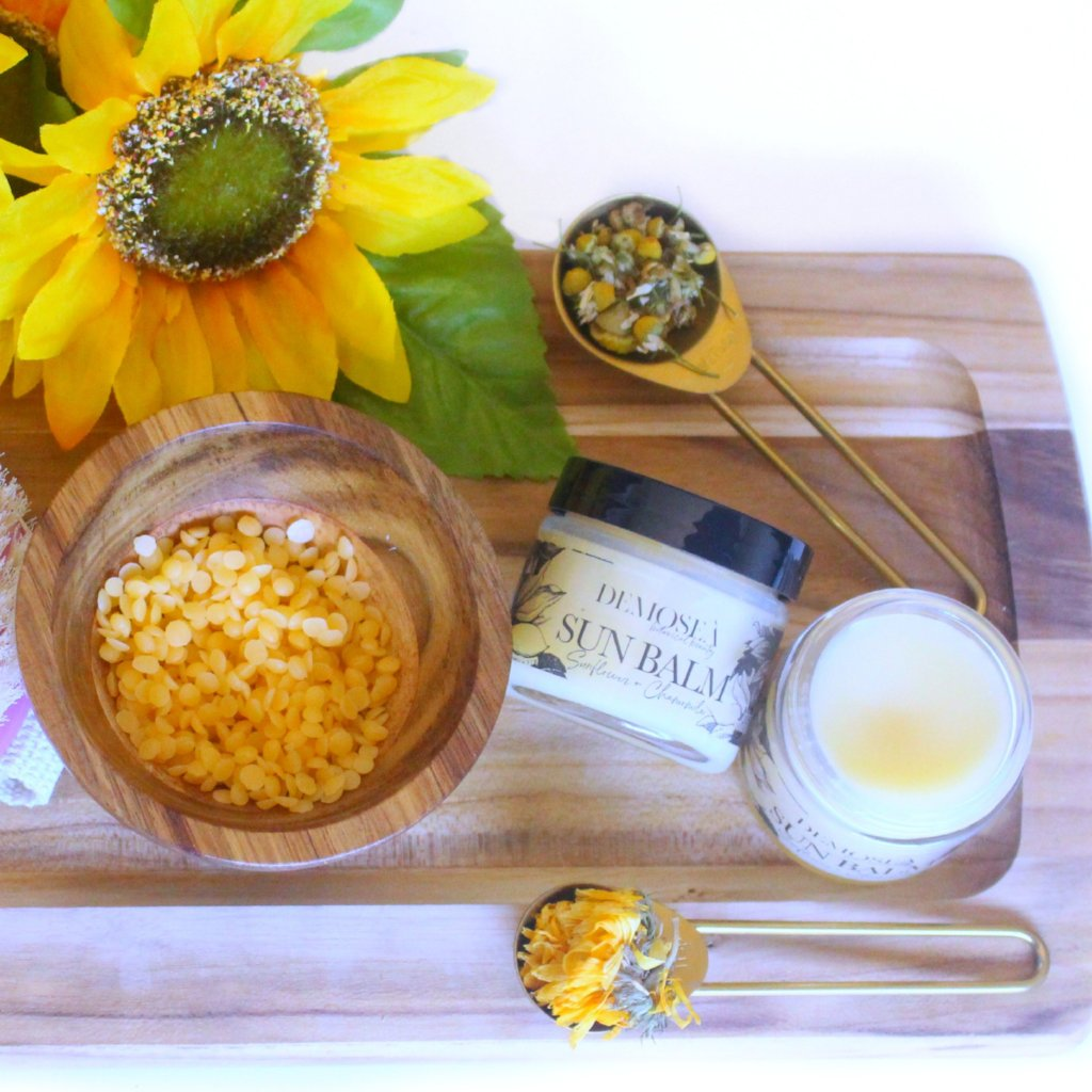 SUNFLOWER & CHAMOMILE SOOTHING BALM