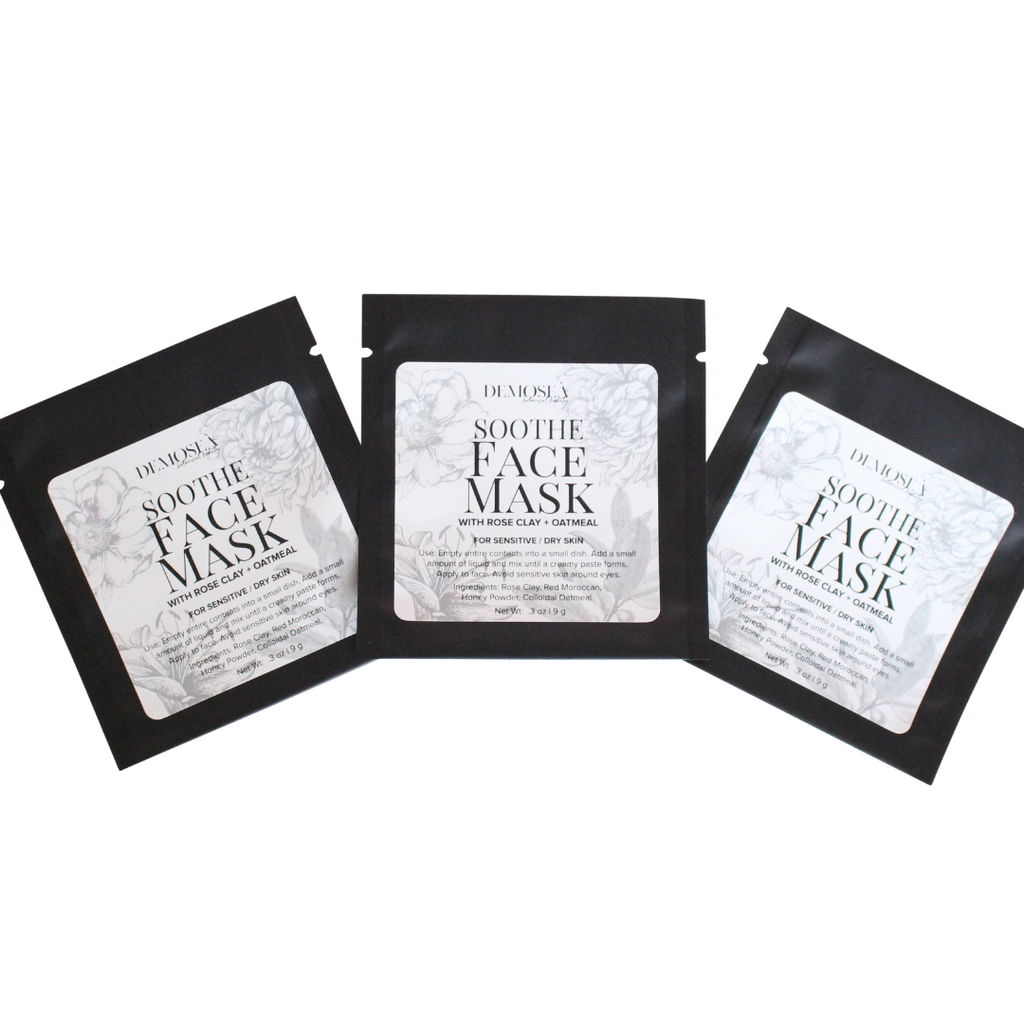 {FACE MASK} CREATES SUPER SOFT, GLOWING, AND SMOOTH SKIN