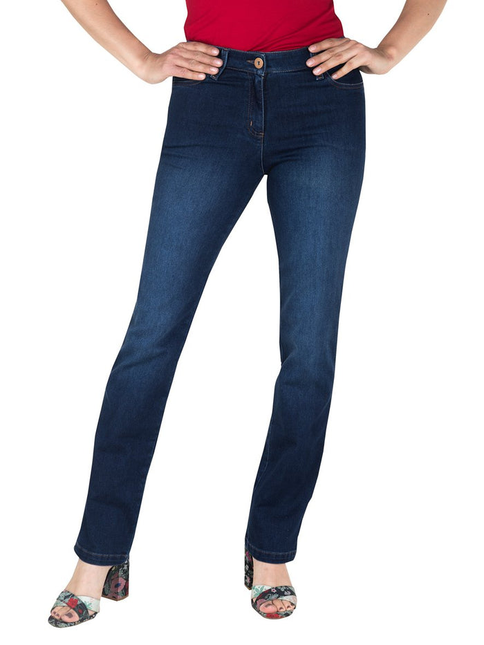 Jean Clasico-C04673 | Jeans de Mujer | Sienna | Colombia