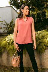 Top Diana-S03309 | Tops de Mujer | Sienna | Colombia