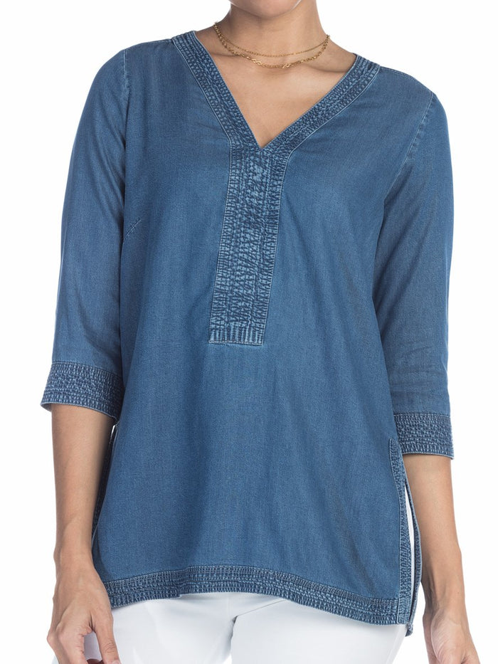 Blusa M3/4-C05011 | Blusas de Mujer | Sienna | Colombia