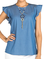 Blusa Duff-S03612 | Blusas de Mujer | Sienna | Colombia