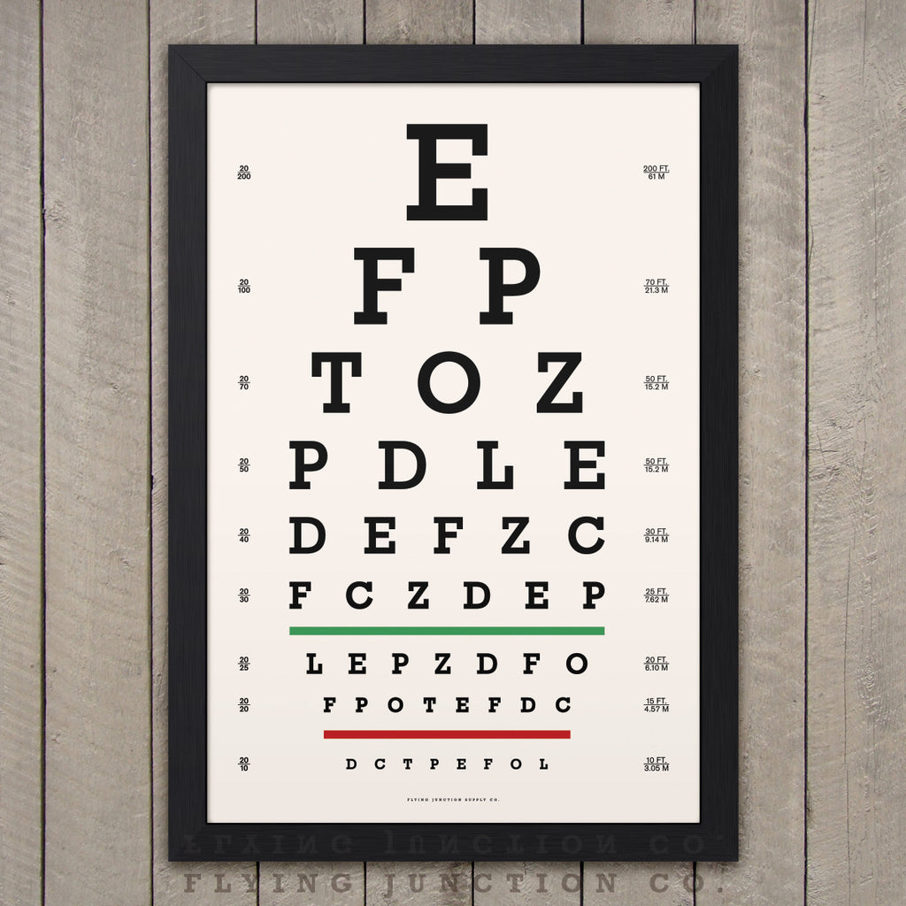 graphic relating to Printable Eye Chart identified as Eye Chart Print Clic Snellen