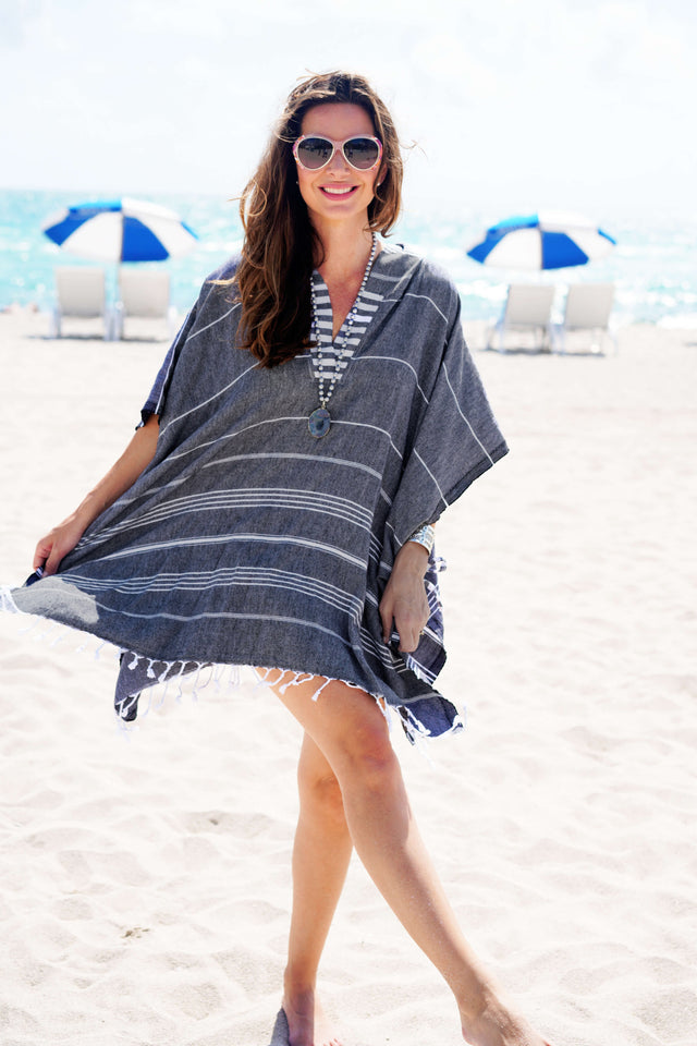 Ibiza Quick Dry Hooded Cover Up - milogiftshop