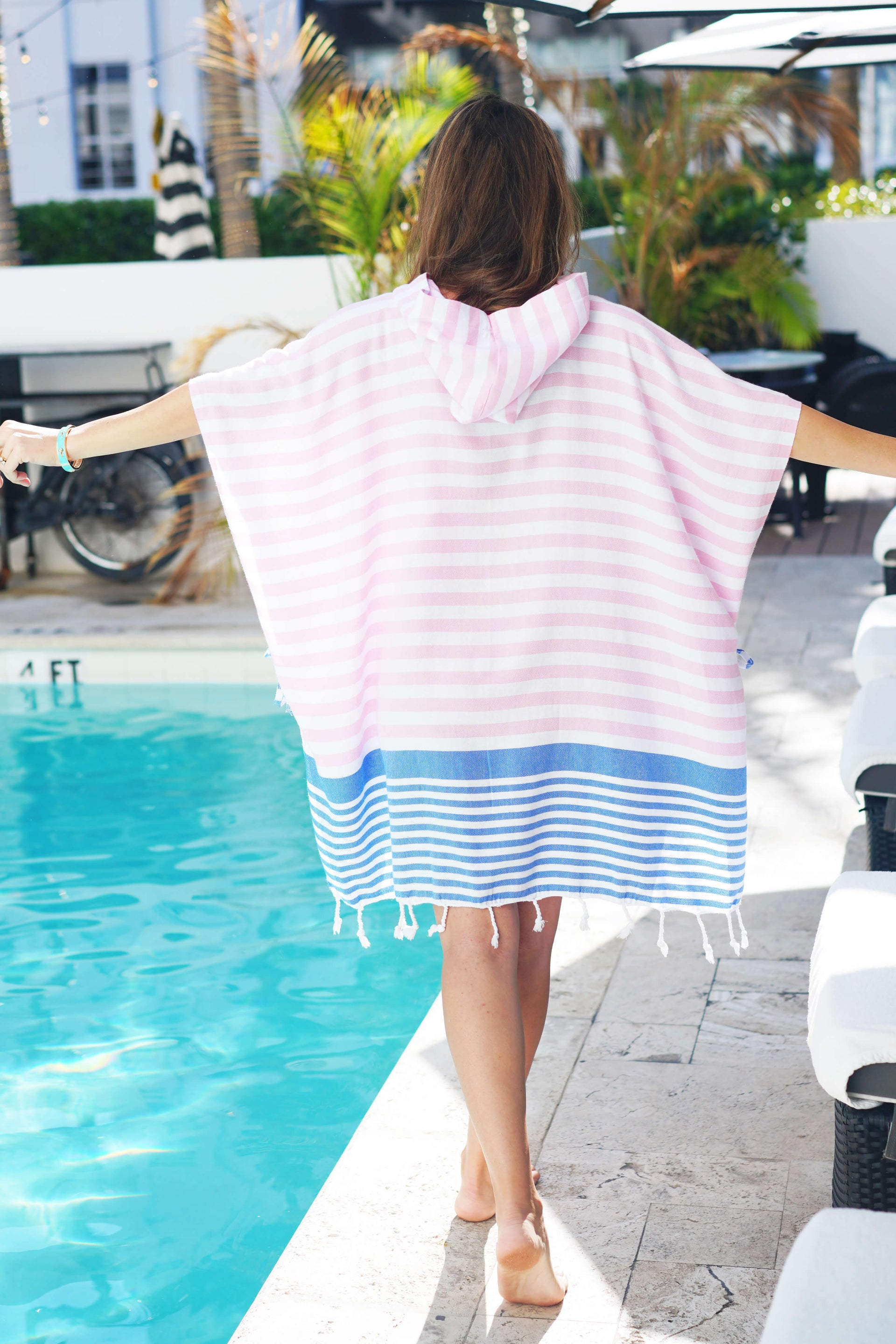Sanibel Quick Dry Hooded Cover Up - milogiftshop