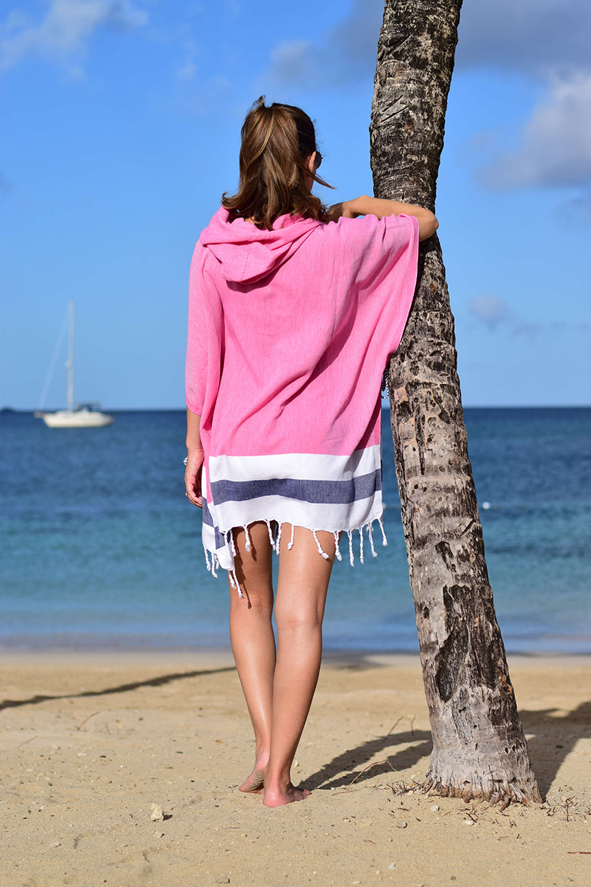 Rosa Quick Dry Hooded Cover Up - milogiftshop