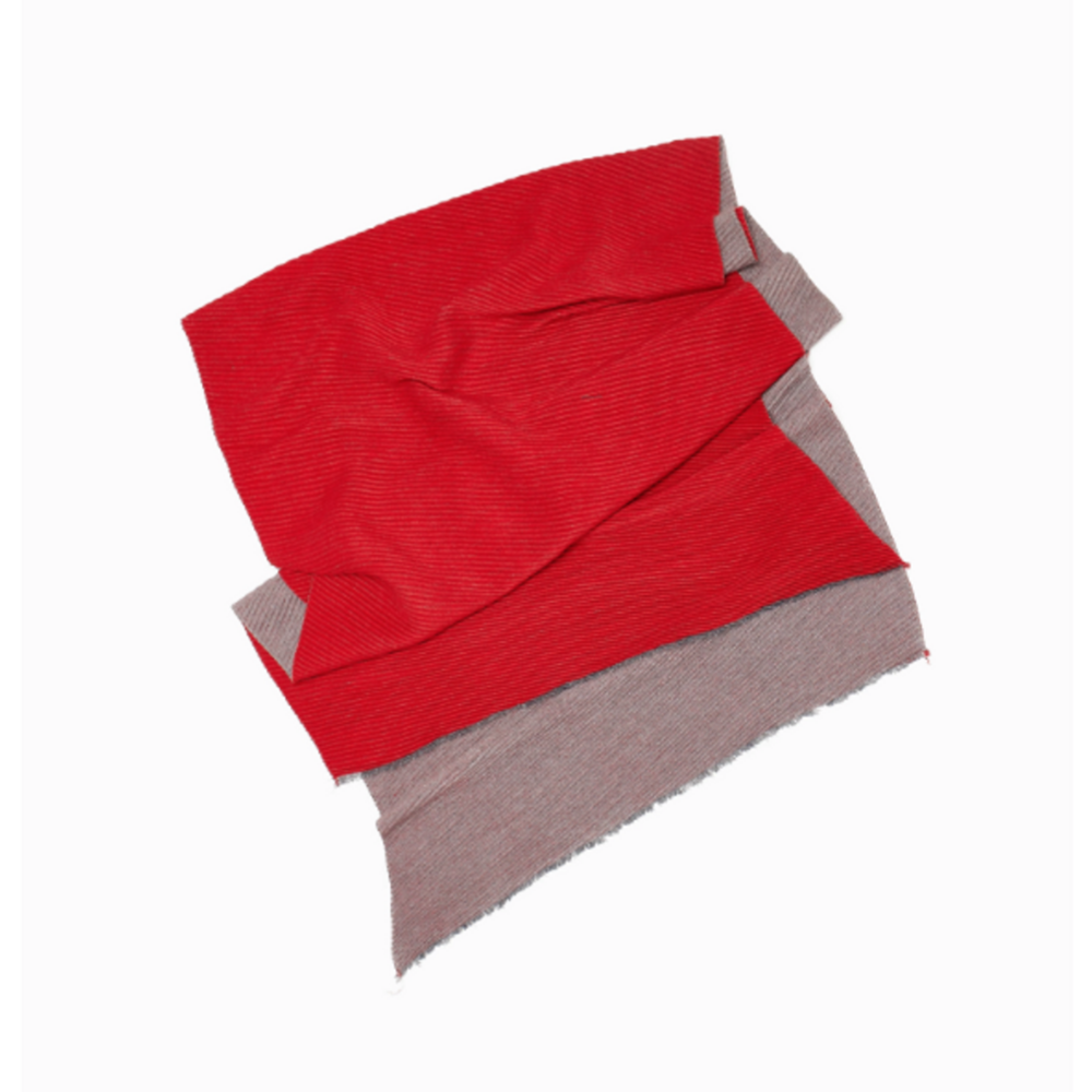 Two Tone Pleat Scarf - milogiftshop