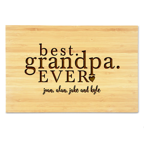 Best Granpa Ever Cutting Board