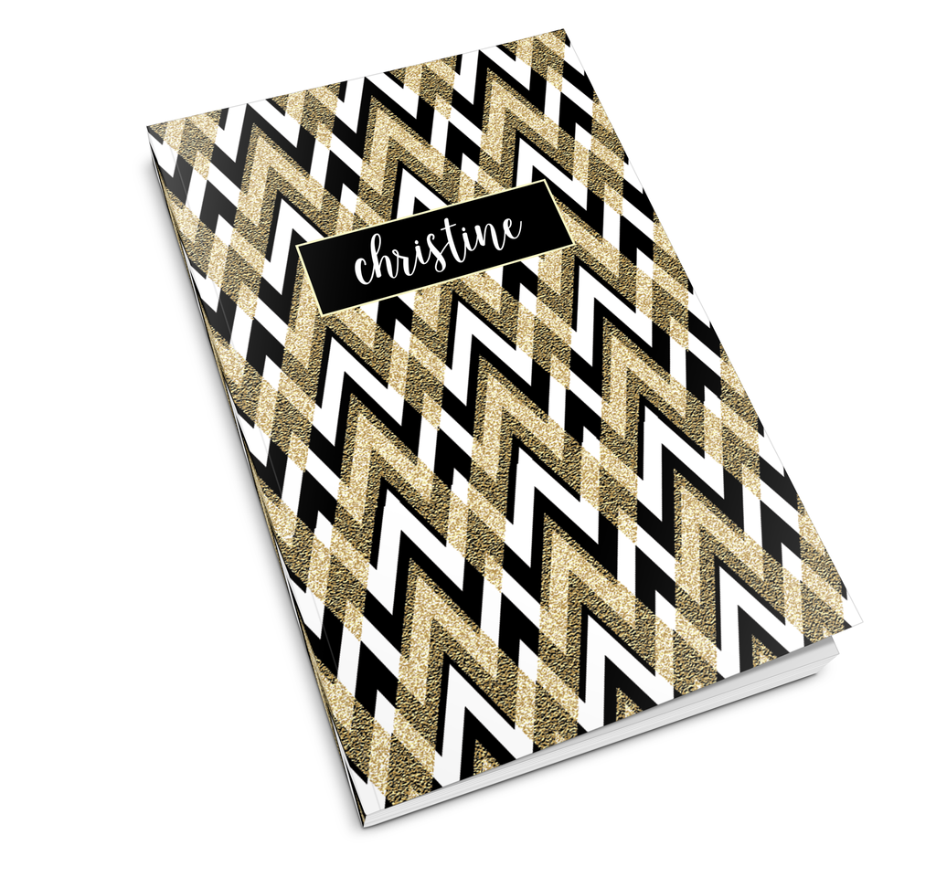 Deco Chevron Journal - milogiftshop