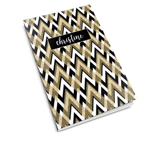 Deco Chevron Journal