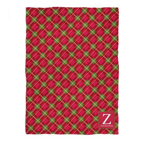 Holiday Plaid Blanket