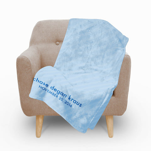 Baby Boy Fleece Blanket