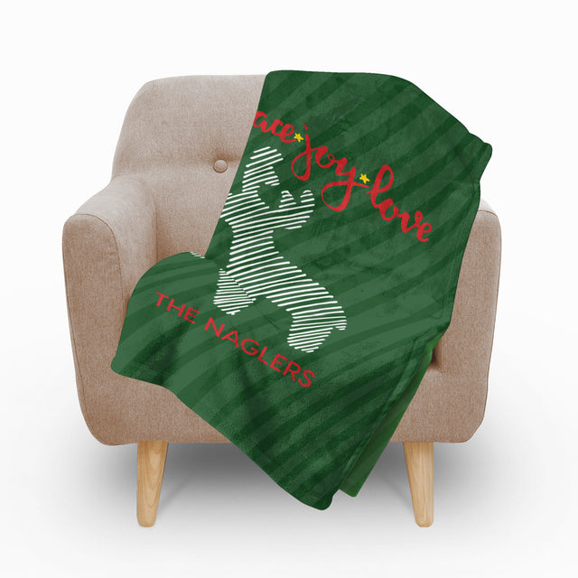 Joy Fleece Blanket - milogiftshop