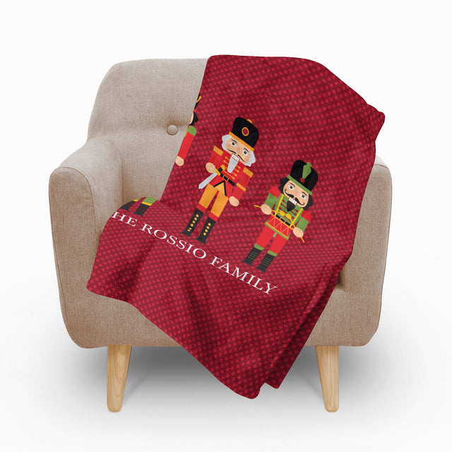 Nutcracker Fleece Blanket - milogiftshop