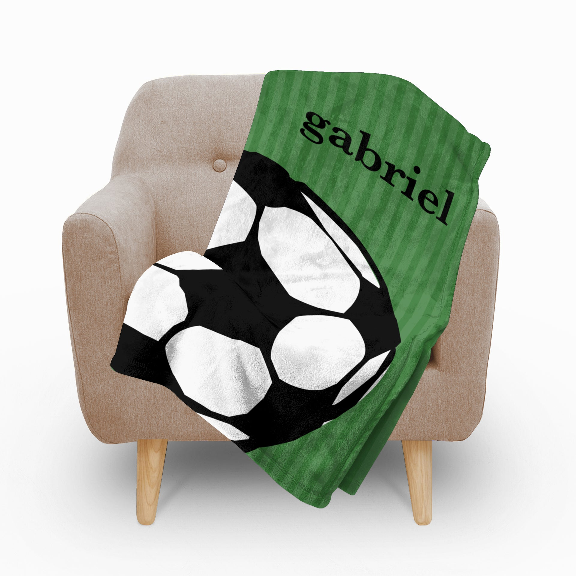 Soccer Fleece Blanket - milogiftshop
