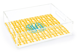 Mira Yellow Catchall Tray