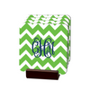 Chevron Green Coasters - Multiple Personalization Options Available