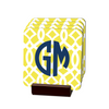 Trellis Gate Yellow Coasters - Multiple Personalization Options Available