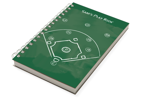 Baseball Chunky Notebook